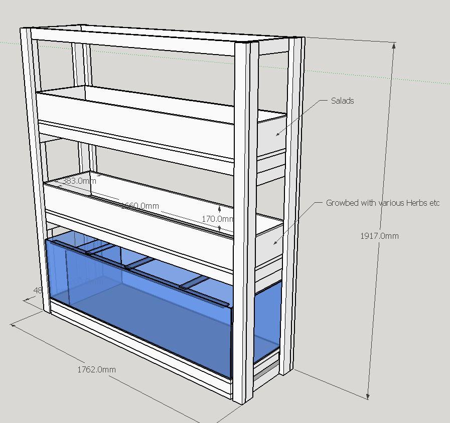 Diy Plans Indoor Aquaponics System Diy Indoor Aquaponics